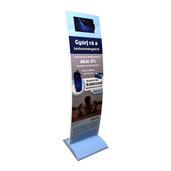 Style Tech Architectural Display Units ST-07 iPad Standee Eerste Bank 01
