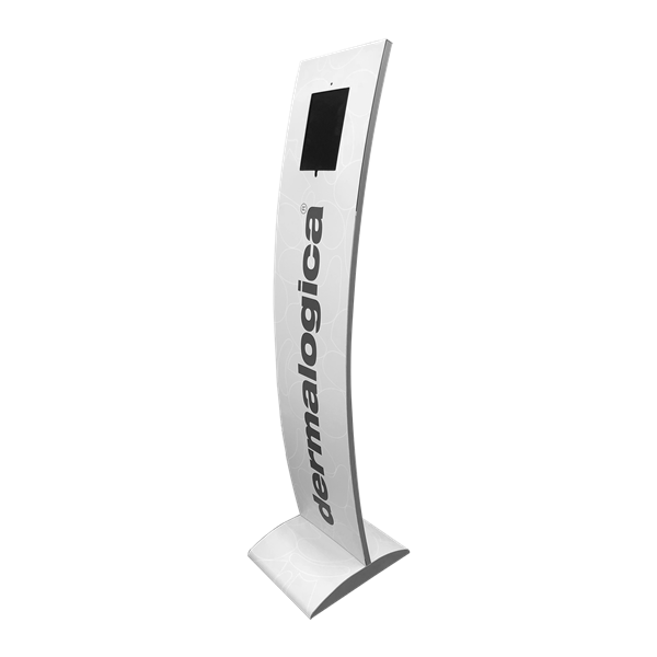 Style Tech Architectural Display Units ST-07 iPad Standee Right Ciew Demalogica 01