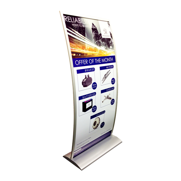 Style Tech Architectural Display Units ST-13 Peugeot 01