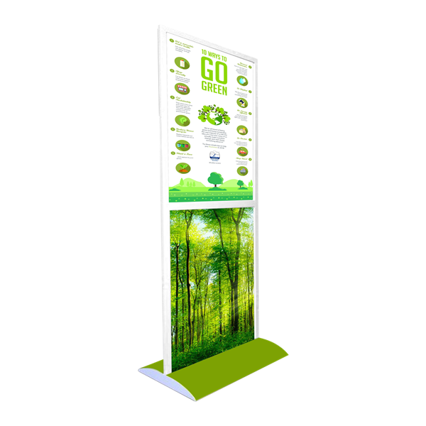 Style Tech Architectural Display Units ST-15 Twin A1 Go Green 01